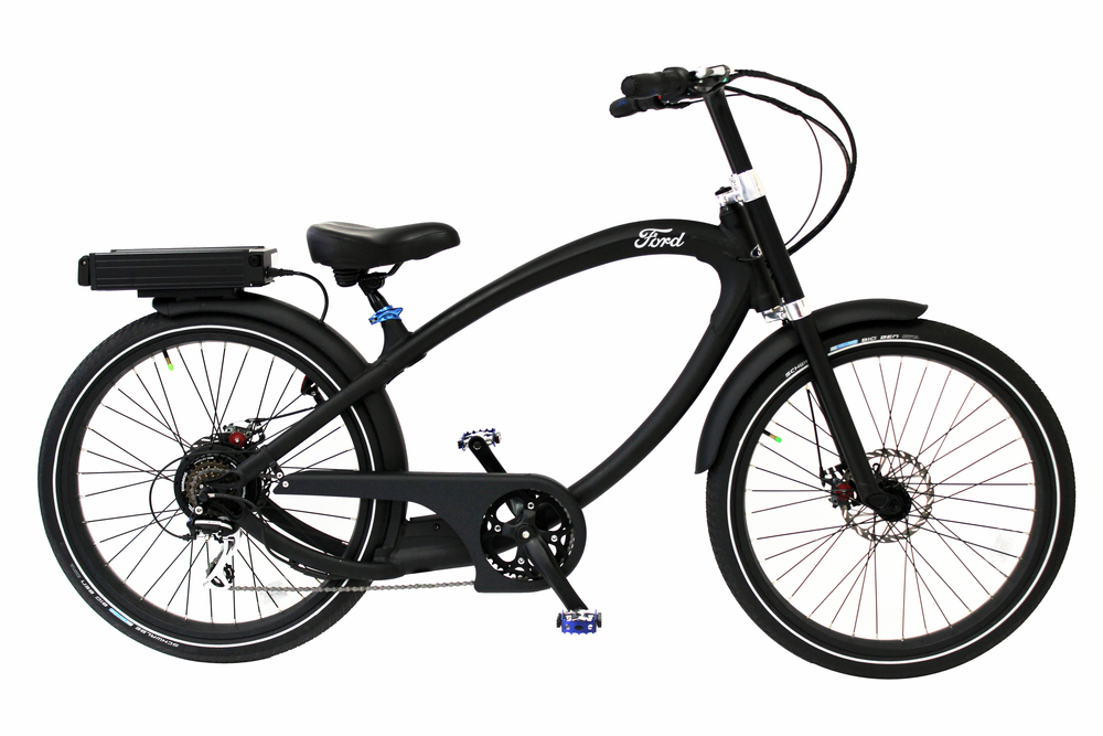 FORD & THE PEDEGO ELECTRIC BICYCLE