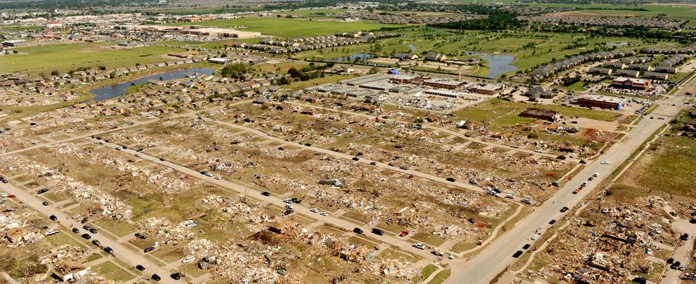 Aerial Views of Tornado Damage in Moore, Oklahoma