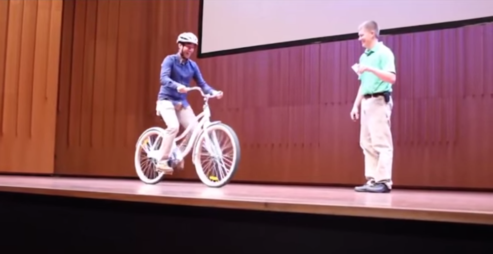 BICYCLE THOUGHT EXPERIMENT (video)