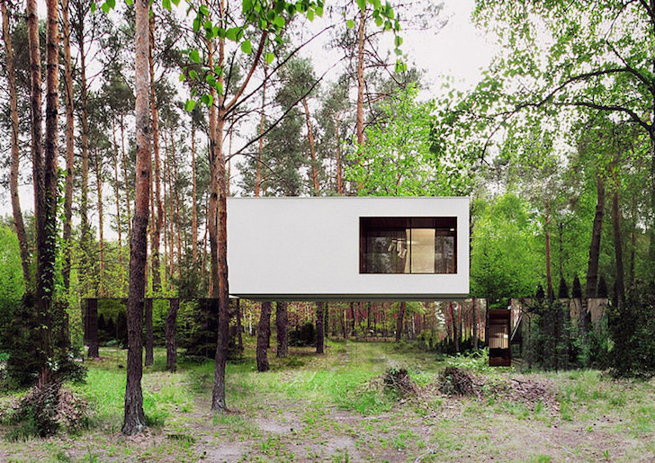 FLOATING HOUSE IN POLAND (photos)