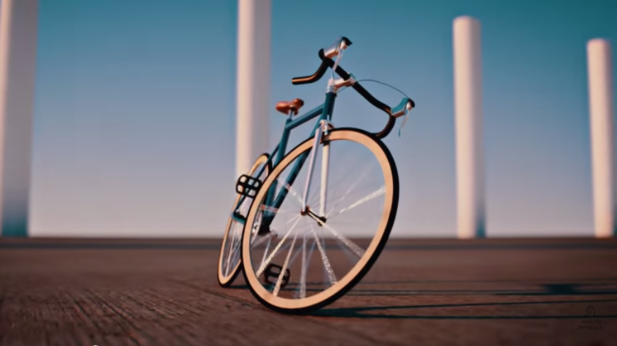 THE PHYSICS OF A BICYCLE (video)