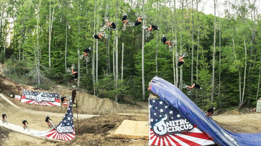QUADRUPLE BACKFLIP (video)