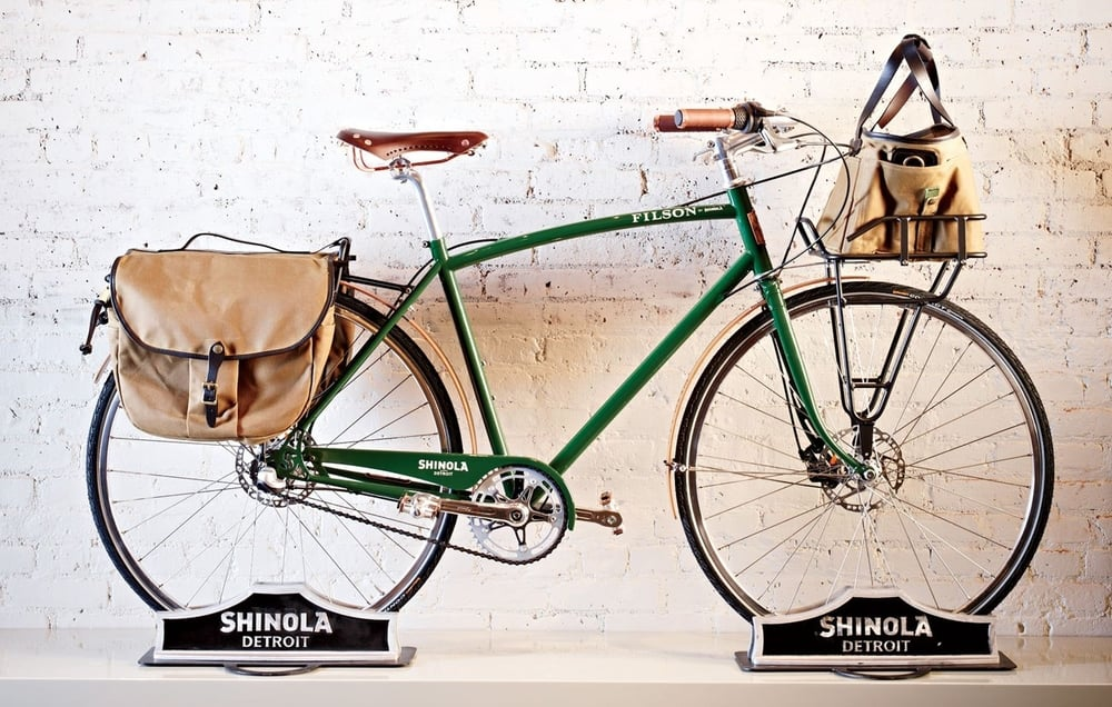 SHINOLA BICYCLES FROM DETROIT (photo essay)