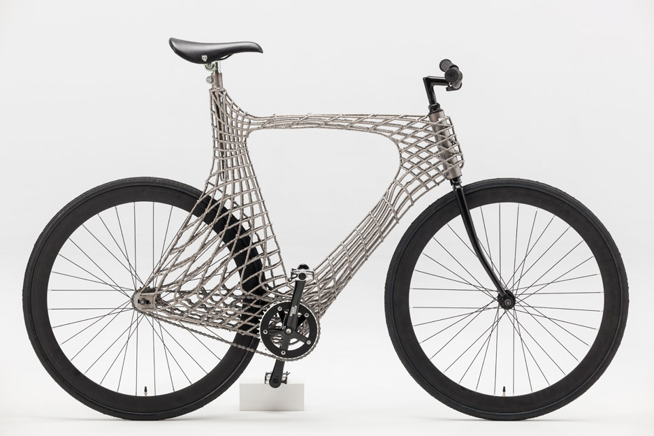3-D PRINTED BICYCLE (article)