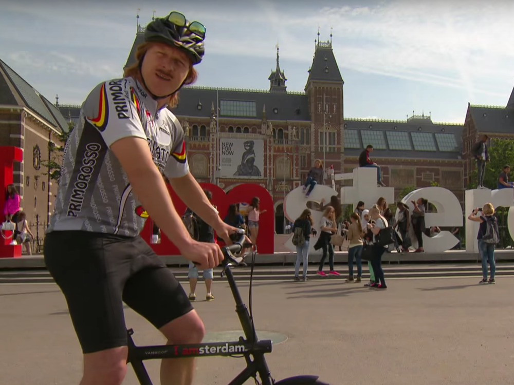 CYCLING IN AMSTERDAM (video)