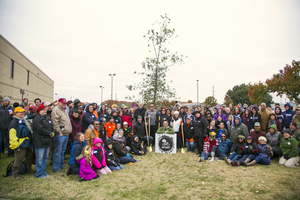 THE ROWLETT RETREET PLANTING GROUP