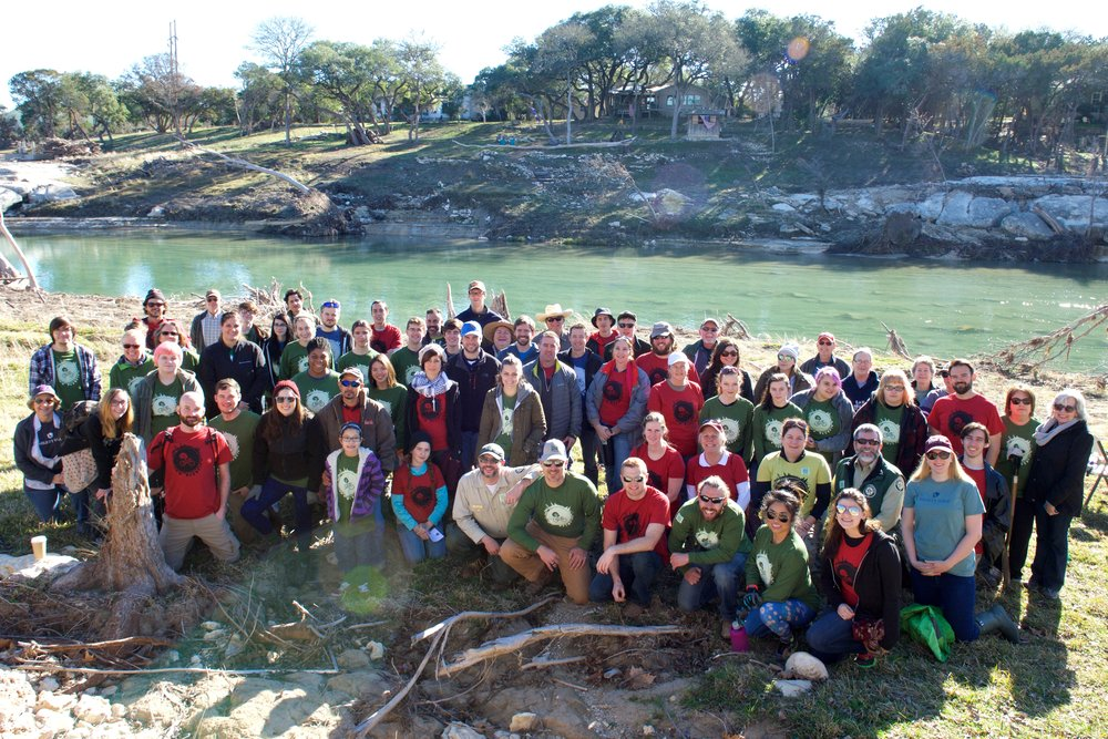 WIMBERLEY RETREET PLANTING GROUP (JANUARY 2016).