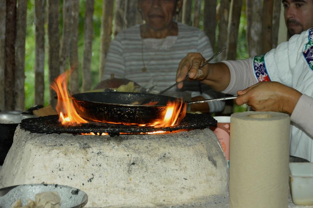 mayan cooking class