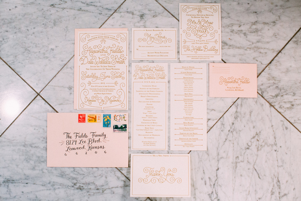 Letters Are Lovely | Wedding Invitations