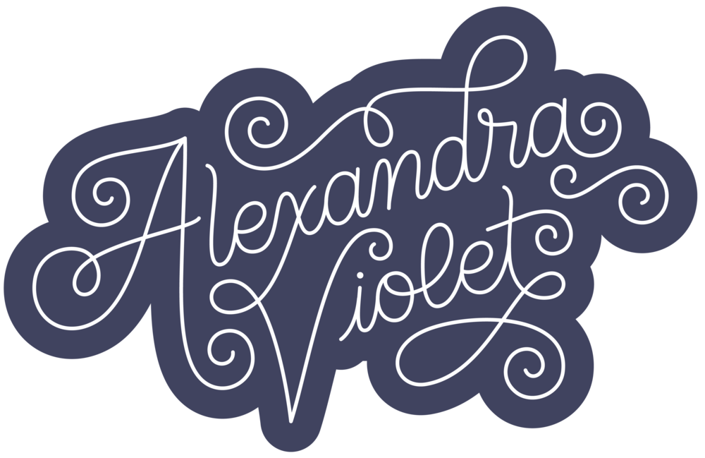Letters Are Lovely | Alexandra Violet