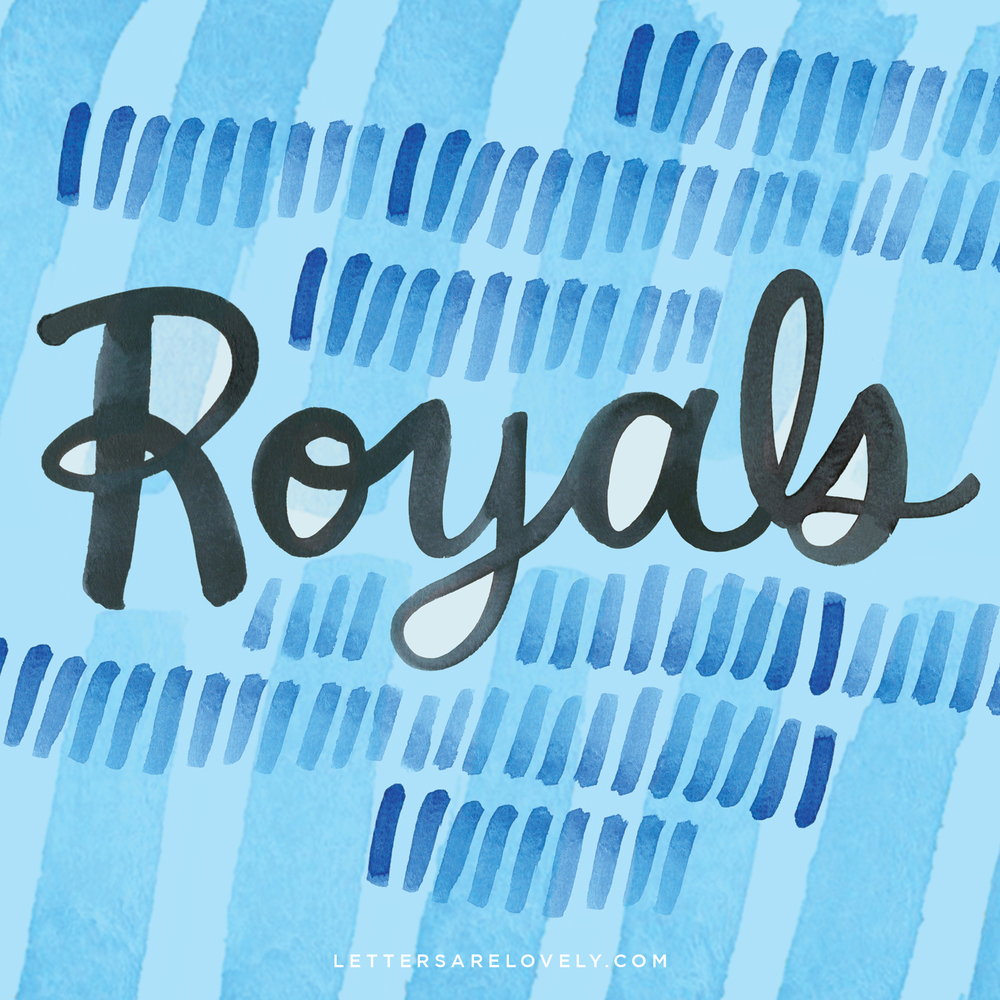 Letters Are Lovely | 11/52 Royals