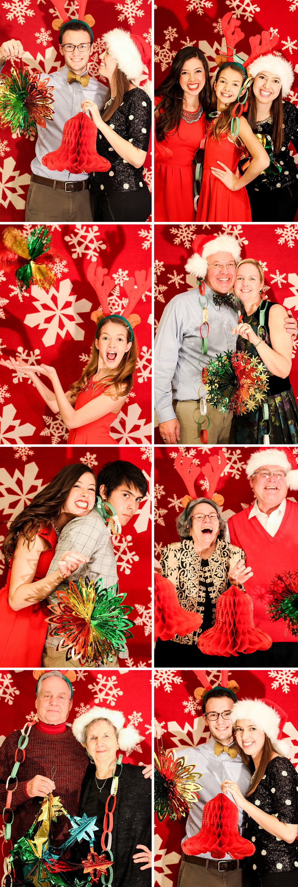 Letters Are Lovely | Christmas Eve Photo Booth 2015