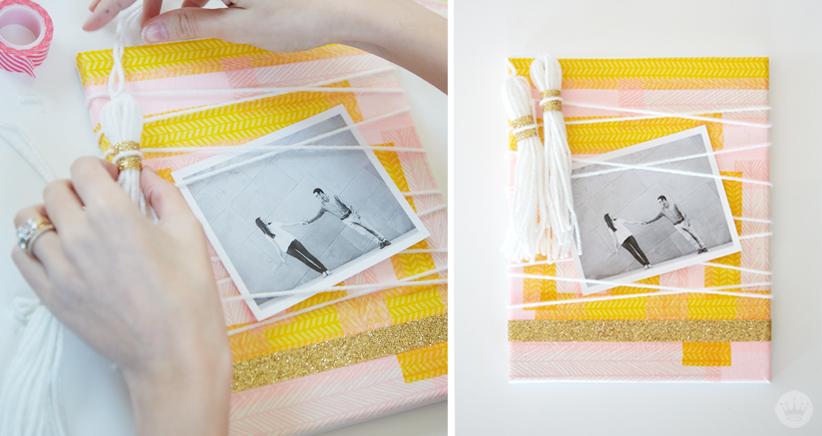 Think.Make.Share. DIY Photo Wall Art