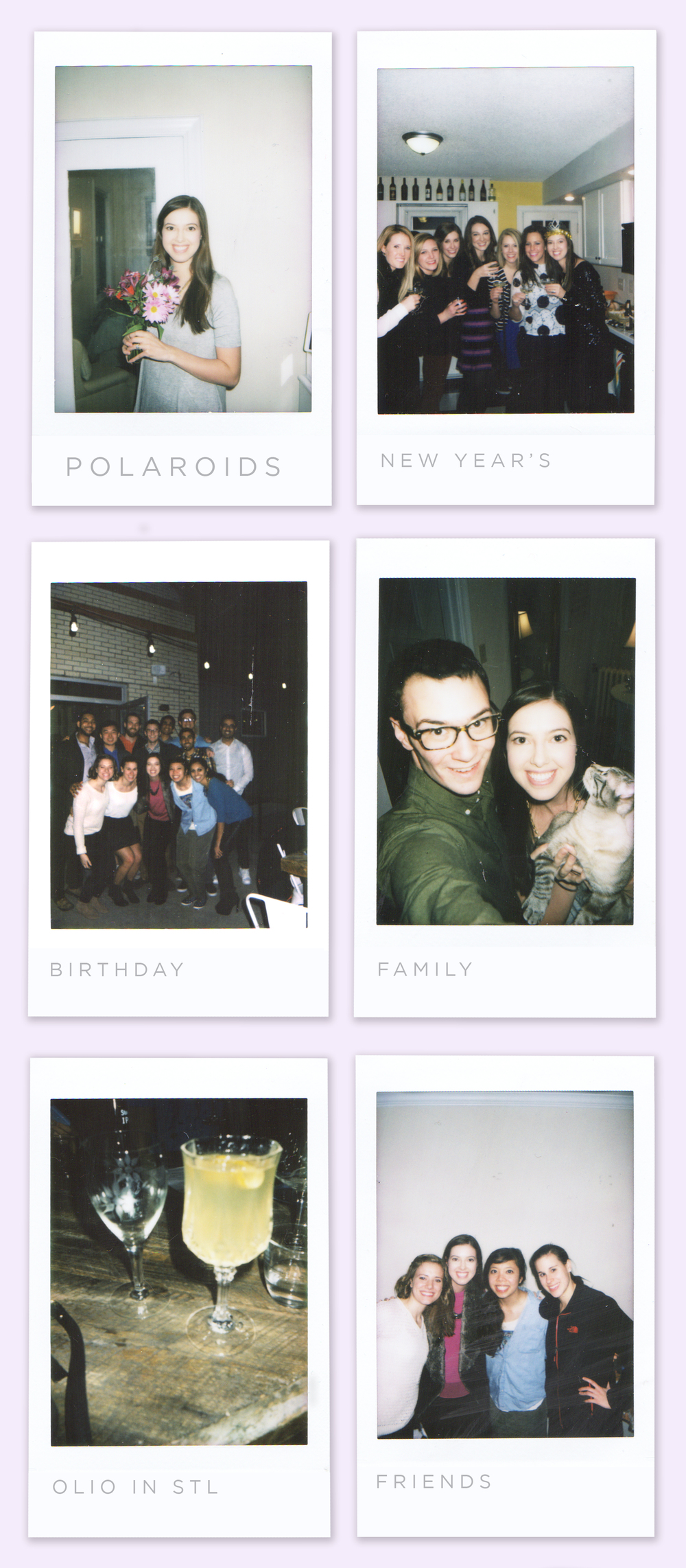 Letters Are Lovely | Polaroids