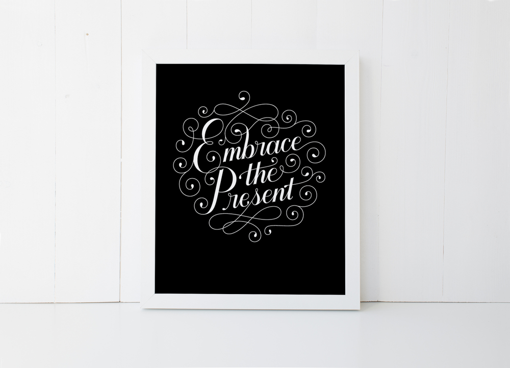 Letters Are Lovely   Etsy Print