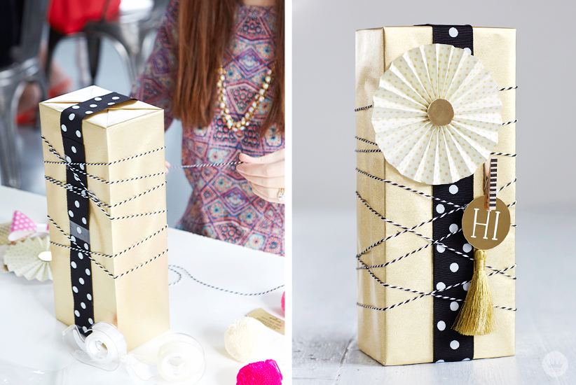 Letters Are Lovely | Think.Make.Share. Creative Gift-Wrapping