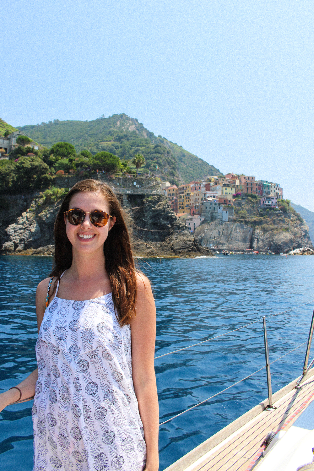 Letters Are Lovely | Cinque Terre Sailboat Trip