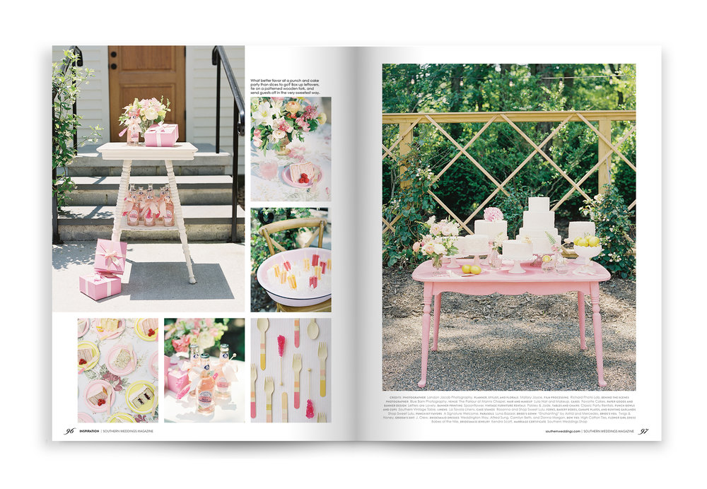 Letters Are Lovely | Southern Weddings Magazine Volume 9!