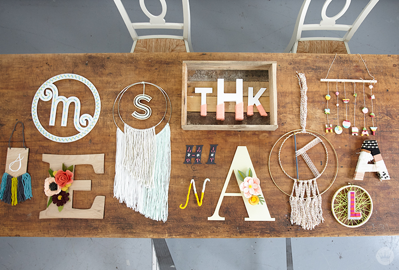Letters Are Lovely | Think.Make.Share. Yarn Monogram Workshop