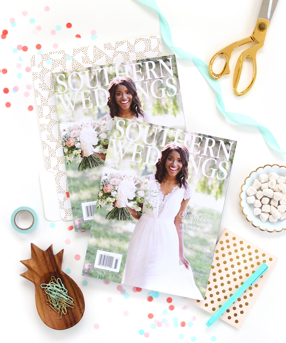 Letters Are Lovely | Southern Weddings Magazine V9