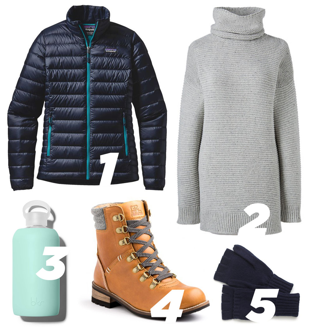 Letters Are Lovely | Patagonia Packing List
