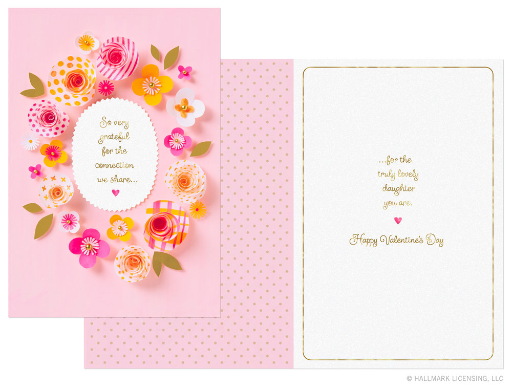 Valentines Cards for Hallmark LETTERS ARE LOVELY – Hallmark Valentine Cards