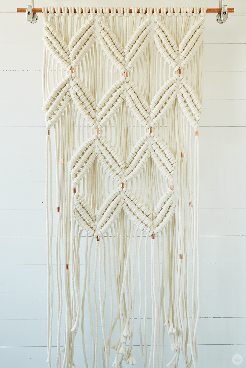 Letters Are Lovely | #My5Days Advanced Macrame Class