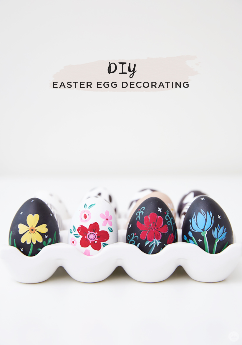 Letters Are Lovely | DIY Easter Egg Decorating for Think.Make.Share.