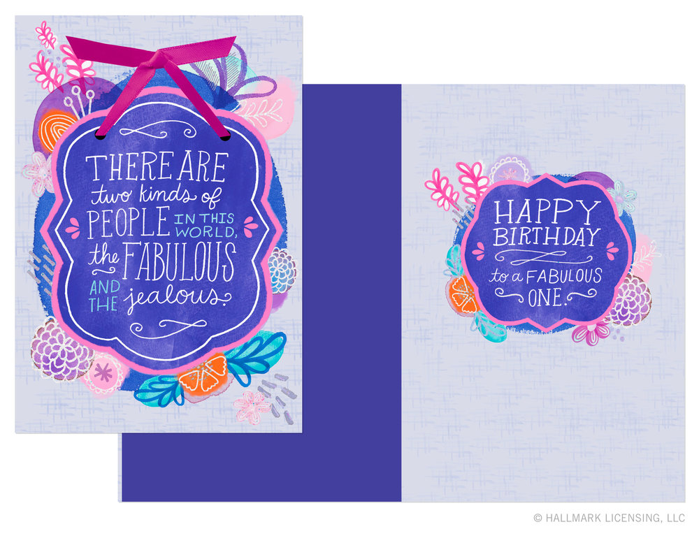 Letters Are Lovely | Portfolio Updates: Lettering for Hallmark