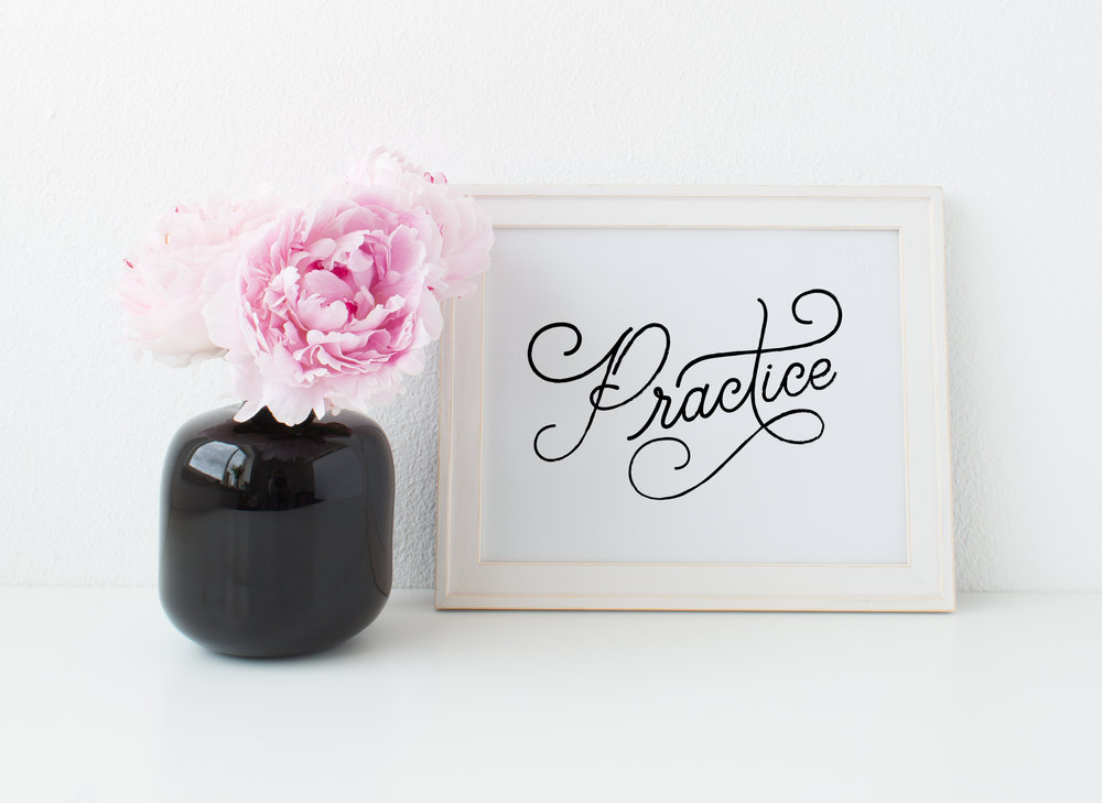 Letters Are Lovely | Practice
