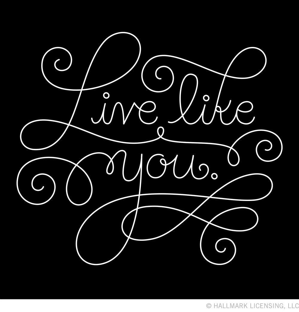 Letters Are Lovely | Live Like You