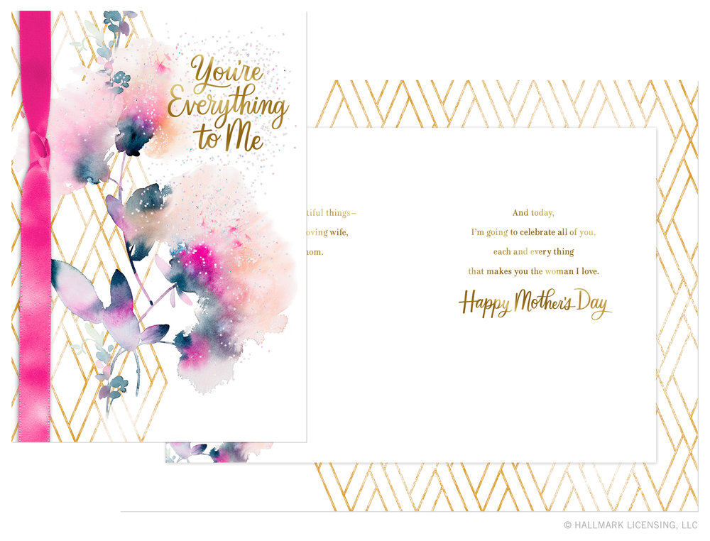 Letters Are Lovely | Mother's Day Cards — Craig Lueck Watercolor