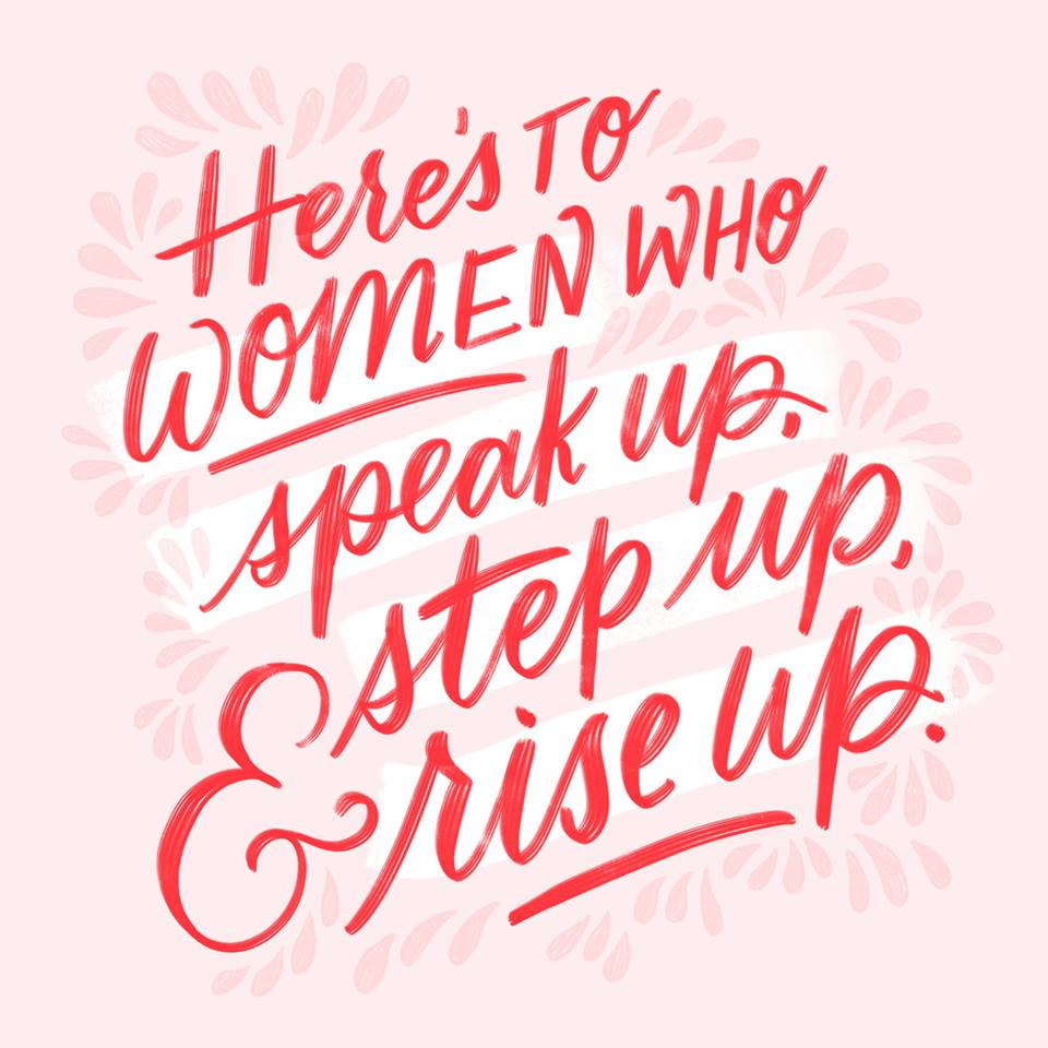 Letters Are Lovely | Women's Equality Day Lettering for Hallmark