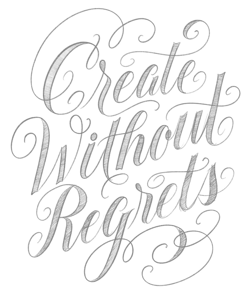 Letters Are Lovely | Create Without Regrets