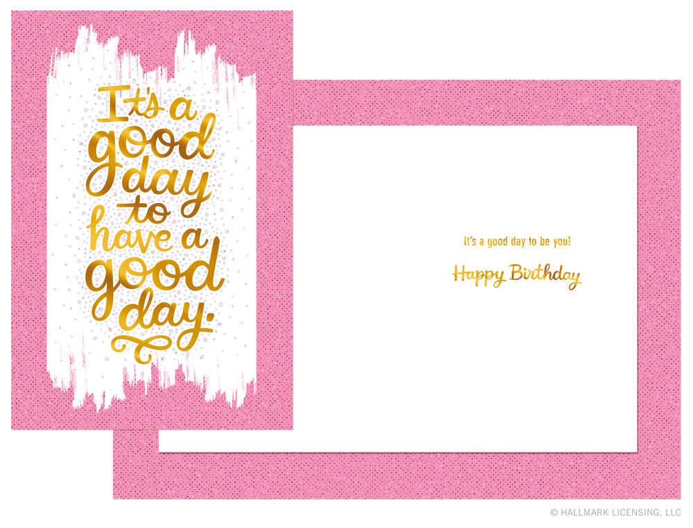 Letters Are Lovely | Birthday Tray Collections for Hallmark
