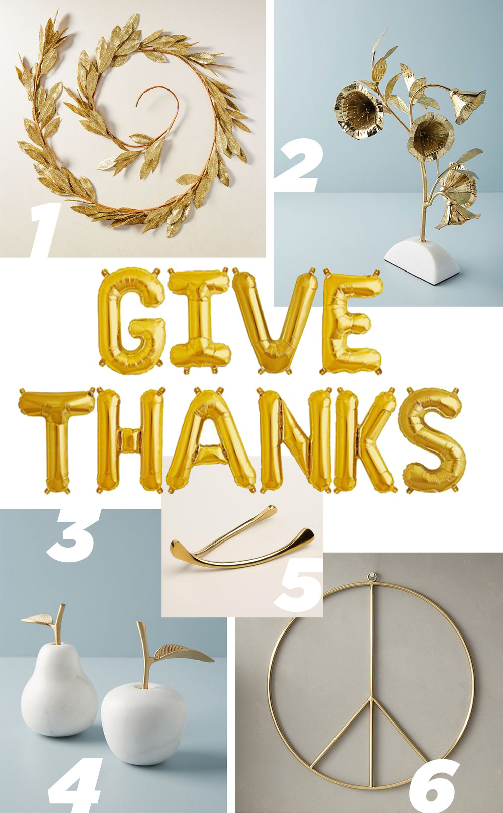 Letters Are Lovely | Thanksgiving Mantle Wishlist