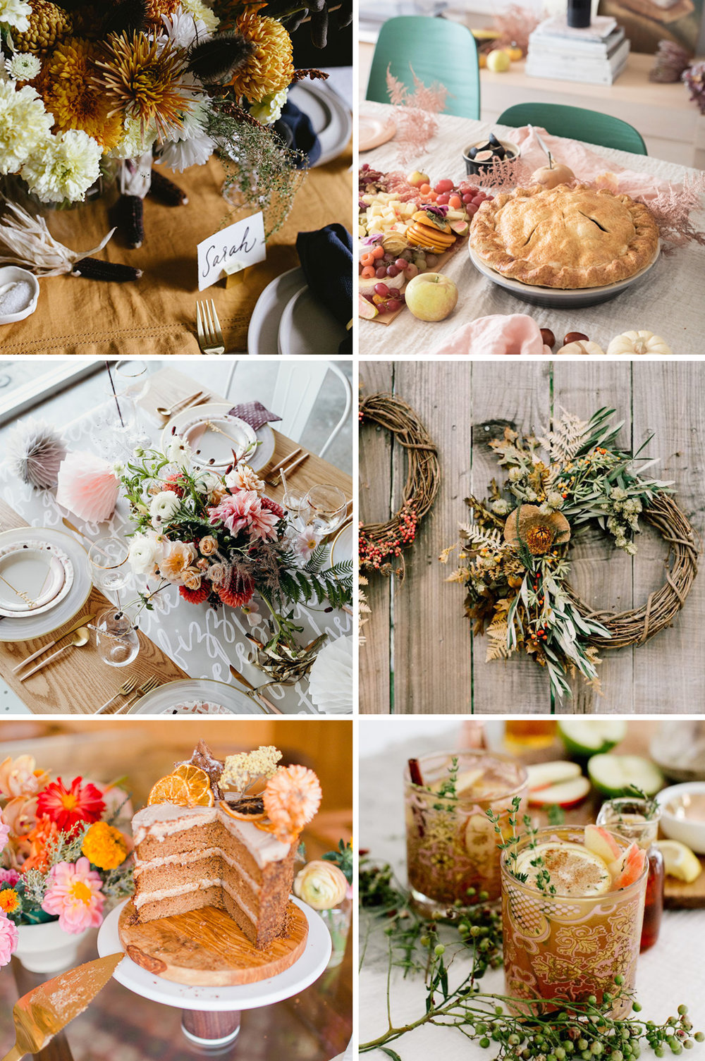 Letters Are Lovely | Thanksgiving Inspiration