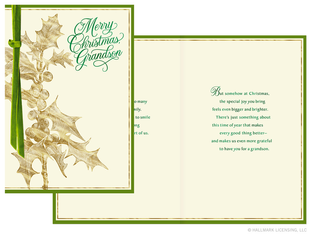 Letters Are Lovely | Christmas Cards for Hallmark: Part One