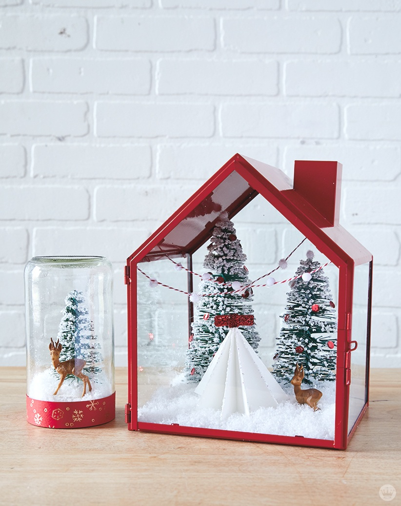 Letters Are Lovely | DIY Snowglobe Segment for Home & Family