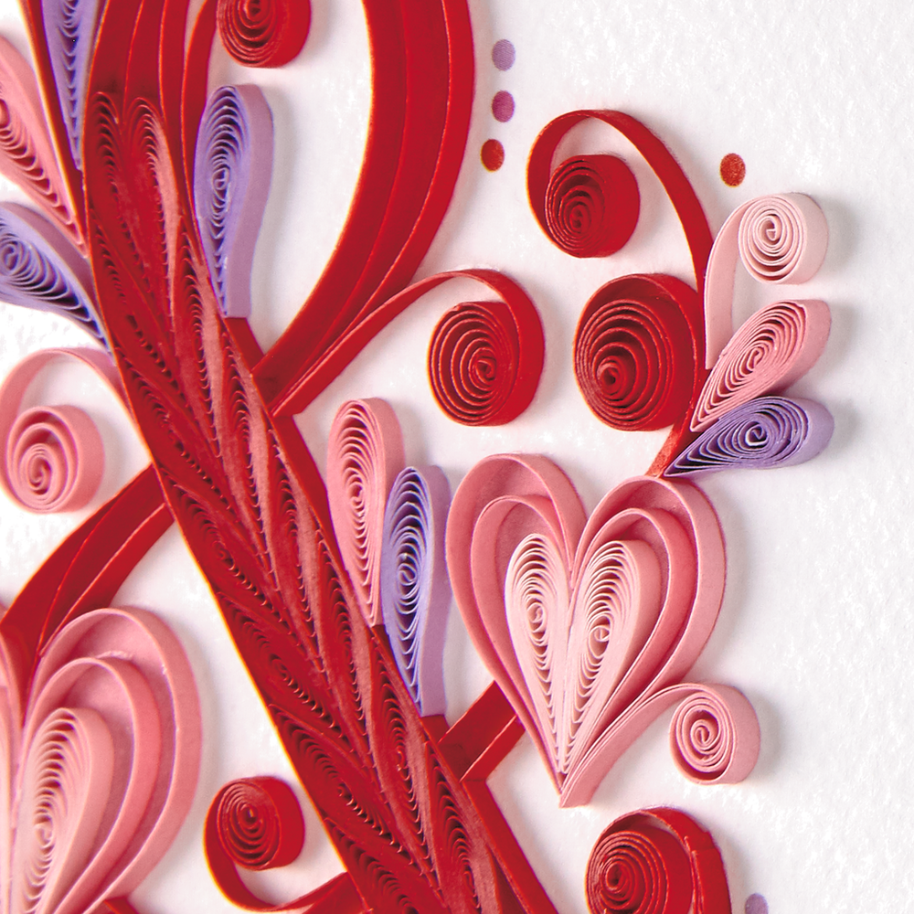 Letters Are Lovely    Hallmark Signature Valentine's Day Card