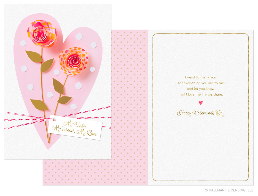 Letters Are Lovely   Valentine's Day Cards for Hallmark