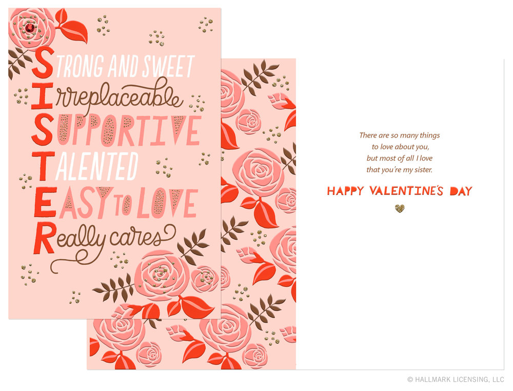 Letters Are Lovely | Valentine's Day Cards