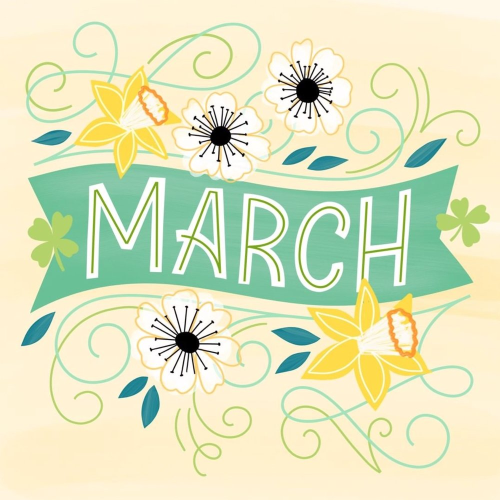 Letters Are Lovely | Hello, March