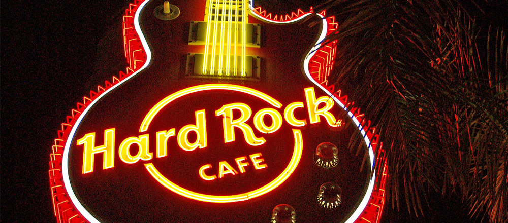 Hard Rock Cafe, Surfers Paradise, Queensland