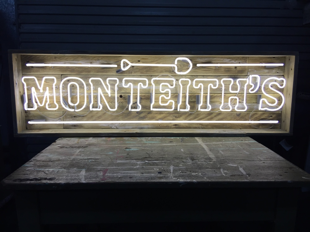 Monteith's neon by SPARC Design