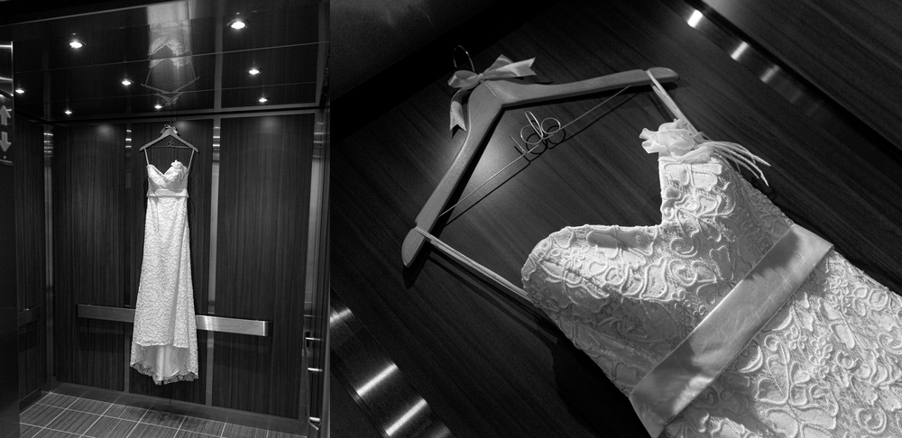 wedding-dress-hanging-in-elevator