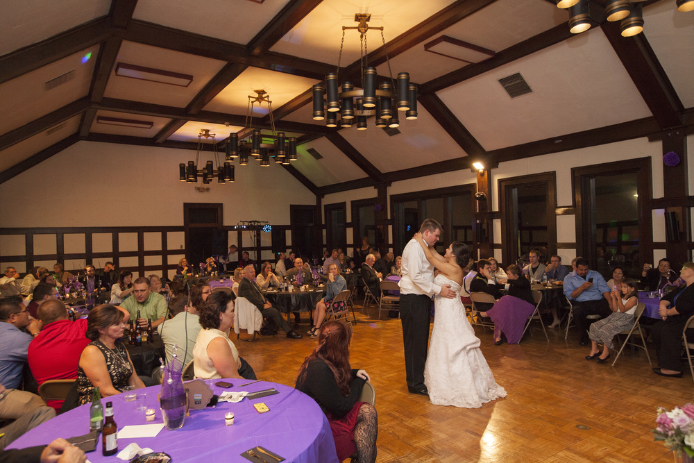 first dance in the lincoln park pavilion