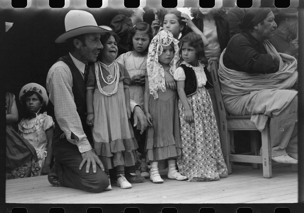 Russell Lee - Fête mexicaine américaine à Taos, Nouveau Mexique, 1940