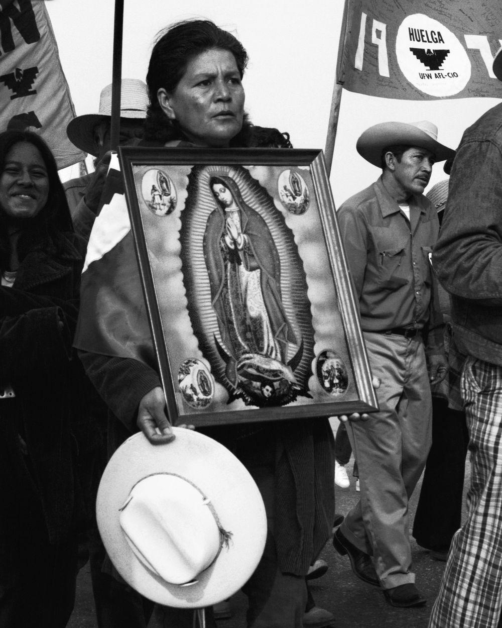 Jesus Garza - Marche avec la Vierge de Guadalupe, 1974