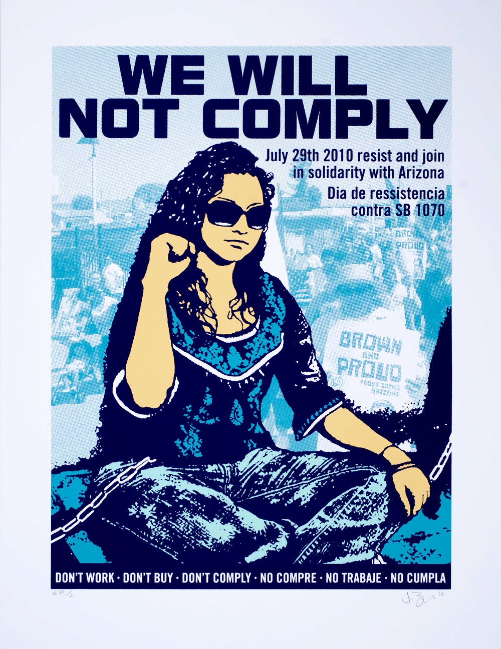 Jesus Barraza et Diane Ovalle - We will not comply